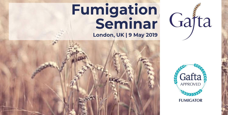 Fumigation Seminar   9 May 2019   London UK