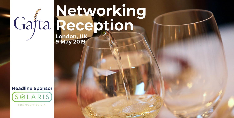 Networking Reception   9 May 2019   London UK